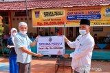 SMPN 1 Padang beri santunan siswa dan guru honor senilai Rp55 juta