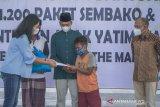ITDC membagikan 1.200 paket sembako di enam desa penyangga Mandalika