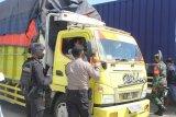 Pemeriksaan kendaraan logistik di Pelabuhan Lembar diperketat