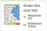 Gempa bumi goncang Bulungan, tak berpotensi tsunami