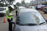 Wakapolda Sumsel pantau pos penyekatan pemudik di pintu tol Palembang-Lampung