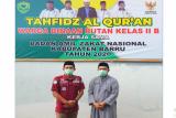 Warga binaan Rutan Barru juara II Tahfidz Al Quran antarwarga binaan