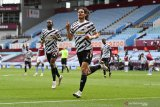 MU kembali bangkit untuk menang di markas Aston Villa
