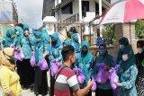 PKK Barut kembali bagikan 500 paket sembako kepada masyarakat