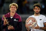 Kalahkan Berrettini,  Zverev juarai Madrid Open kedua kalinya
