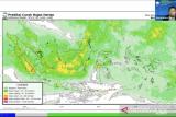 BMKG: Waspadai potensi hujan lebat di provinsi ini saat malam  takbiran