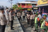 Wakapolda Lampung cek kesiapan pos penyekatan dan pengamanan di Lampung Tengah
