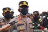 Polisi telah memutar balik 6.000 sepeda motor pemudik