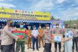 Jasa Raharja kunjungi pos penyekatan mudik Simpang Pematang