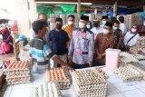 Harga kebutuhan pokok jelang lebaran di Mataram stabil