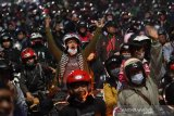 Polisi amankan empat pemudik provokator terobos barikade
