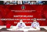 Harun Sulianto arahkan Kalapas/Karutan berkoordinasi dengan TNI-Polri terkait Idul Fitri