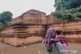 Kawasan candi Muara Jambi ditutup