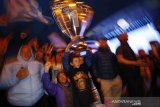 Man City resmi juara Liga Premier usai Leicester kalahkan MU