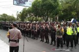 Antisipasi adanya pawai takbir, ratusan personel gabungan dikerahkan