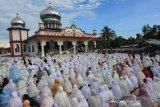 Ribuan umat Islam Nagan Raya Aceh rayakan Idul Fitri