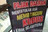 Penerimaan pajak daerah Kabupaten Kudus Rp45,17 miliar