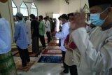 Sejumlah lokasi di Bandarlampung gelar shalat Idul Fitri dengan prokes ketat