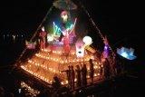 Unik, masyarakat Maninjau tampilkan rakik-rakik hiasan meriahkan malam takbiran Idul Fitri