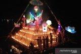 Masyarakat Maninjau tampilkan rakik-rakik hiasan  sambut Idul Fitri
