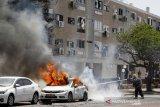 Hamas luncurkan serangan roket, Israel kerahkan pasukan tempur di sepanjang perbatasan Gaza
