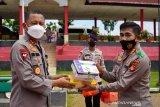 Kapolda Sumsel bagikan vitamin tingkatkan stamina siswa sekolah polisi