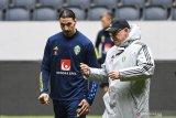 Zlatan Ibrahimovic dipastikan tidak memperkuat Timnas Swedia di Euro 2020