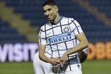 Achraf Hakimi yakin Inter Milan bisa dominasi Italia dan Eropa bersama Conte