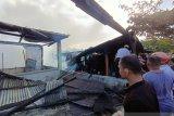 Lima rumah hangus terbakar di Tarakan