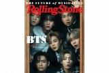 BTS jadi musisi Asia pertama tampil di sampul Rolling Stone