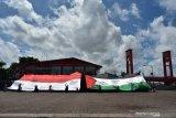 ACT Sumsel kibarkan bendera Palestina-RI Raksasa di Benteng Kuto Besak Palembang