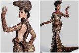 Ayu Maulida kenakan kostum Komodo di kontes Miss Universe