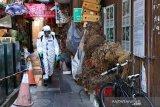 Sampah wadah makanan menumpuk di Taiwan selama