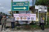 Pantai Tiku Agam akhirnya ditutup setelah pengunjung membludak