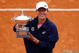 Petenis Polandia Swiatek juarai Italian Open untuk pertama kalinya