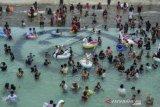 Wisata Ampera Water Park Ramai Pengunjung