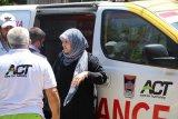 Ambulans bantuan warga Padang turut evakuasi korban warga Palestina