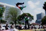 Demonstran serukan boikot produk Amerika Serikat dan Israel demi bela Palestina