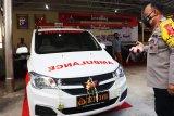 Kapolda Kalteng luncurkan ambulans siaga karhutla - Genose COVID-19 mobile