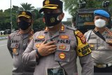 Polisi periksa tiga WNA yang diamankan saat aksi bela Palestina di Kedubes AS