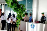Personel Kodim 1016/Plk laksanakan pengamanan bandara usai libur Lebaran