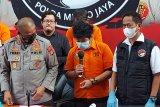 Putra Rita Sugiarto mengaku sudah tiga tahun konsumsi sabu
