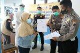 Cegah COVID-19, Polres Banjarnegara gelar tes antigen bagi calon penumpang bus