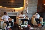 Wali Kota-Wawali Manado kunjungi BPK Sulawesi Utara