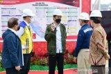Presiden Tinjau Proyek Tol Pekanbaru - Bangkinang
