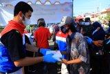 Pertamina Cilacap salurkan 23.000 paket takjil selama Ramadhan