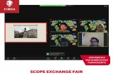 SCOPE CIMSA UMP rayakan Exchange Fair 2021