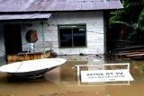 Pedalaman Sungai Kayan banjir, warga Bulungan diimbau waspada
