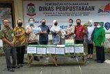 Dinas Perpustakaan Makassar terima donasi buku pada momentum Harkitnas