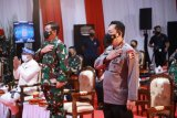 Kapolri bersama Panglima TNI meluncurkan layanan darurat 110
